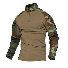 TACVASEN Breath Mens Army Military Shirts Tactical Combat Shirt Pullover T-Shirt