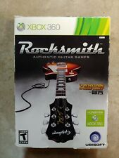 Rocksmith 2012 Microsoft Xbox 360 Guitar Game & Real Tone Cable & Stickers