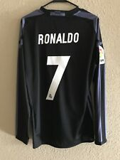 Real Madrid Ronaldo Player Issue Shirt Adizero Football Match Unworn Jersey