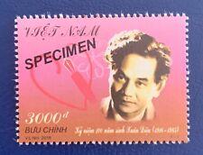 Vietnam 2016 Xuan Dori 100 Years Stamp Vn #1065 Mint Mnh Specimen