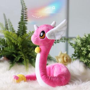 "26"" Pokemon Go Pink Dragonair Dragon Doll Plush Pocket Monster Animal Toy"
