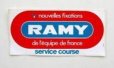 Autocollant RAMY FIXATIONS- Ski Français - Sticker collector  -  Année 70/80