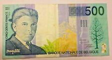 ==>>500 Francs Magritte 500 Frank 1998 1999 Belgique Belgïe  Belgium #F6# <<==