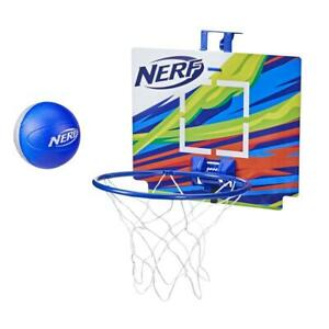 Nerf Nerfoop – The Classic Mini Foam Basketball and Hoop -- Hooks On Doors --