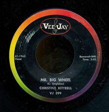 45bs-Blues -VEE-JAY 399-Christine Kittrell