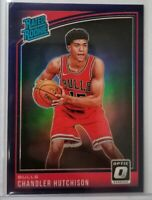 2018-19 Donruss Optic Chandler Hutchison Rated Rookie Purple Prizm Bulls