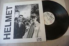 """HELMET""""LIVE 8-5-91-disco 33 giri AULICAP Italy 1992"""""""