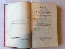 Essai sur le pouls - Henri Fouquet - 1818