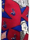 1996 Democrat Presidential Election Bill Clinton Neck Tie By Mike Luckovich