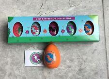 WHITE HOUSE 2014 EASTER Egg 5 EGGS in BOX OBAMA FACSIMILE SIGNED w 1st DOG BO