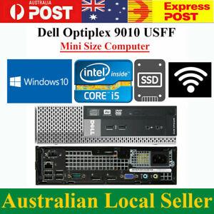 Dell 9010 Mini PC Core i5-3470 3.1GHz 4GB 120GB SSD Windows10 Desktop Computer