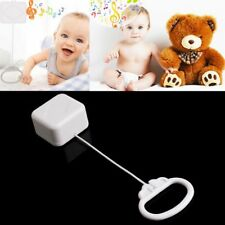 Years Infant Kids Gift Baby Toy Bed Bell Pull String Cord Rattles Music Box