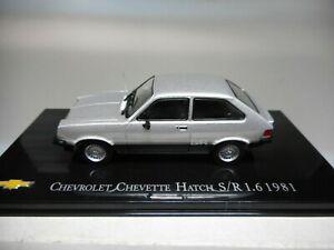 CHV 20 CHEVROLET CHEVETTE HATCH S/R 1.6 1981 BRASIL SALVAT 1/43