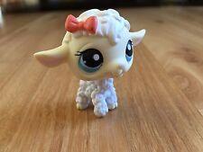Littlest Pet Shop Lamb # 396 sheep white cream face kids toy