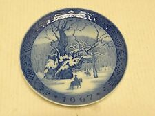 1967 Royal Copenhagen Christmas Plate Kai Lange The Royal Oak excellent