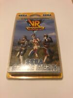 😍 rare jeu vr troopers eur pal fr blister rigide sega game gear neuf gamegear
