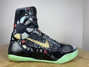 Men's Nike Kobe 9 IX Elite All Star NOLA Gumbo League Black Gold 10 630847-002