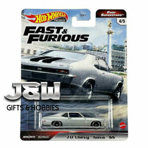 Hot Wheels Chevy Nova Ss 70 Fast And Furious GBW75-956M 1/64