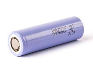 21700 40T Samsung Hochstromzelle mit 4000mAh E-Zigarette