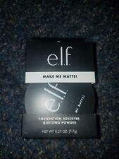 Elf Make Me Matte ! Foundation Adjuster & Setting Powder - 0.27oz/ BRAND NEW BOX