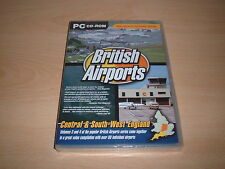 ✈️ BRITISH AIRPORTS VOLS 3 & 4 TWIN PACK FLIGHT SIMULATOR 2004 FS2004 ADD-ON NEW