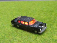 Spur N TT Mercedes 600 Oldtimer Brand Brennend 12V LED Feuer WIKING 1:160 #46