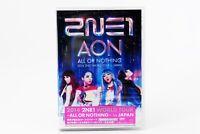 New 2014 2NE1 WORLD TOUR ALL OR NOTHING in Japan 2 DVD AVBY-58264 4988064582648