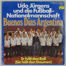 Football 45 tours Equipe Allemagne Mundial Argentine 1978 Udo Jurgens