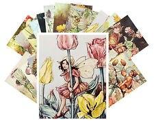 Postcards Pack [24 cards] Cecile Barker Flower Fairy Pixies Vintage Book CC1006