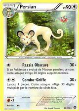Carte Pokémon  Persian 90pv  89/114    XY Offensive Vapeur