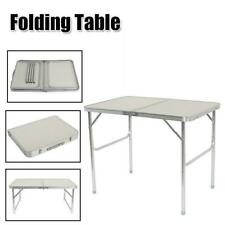 3FT Partable Aluminum Folding Table Picnic Garden Camping Indoor / Outdoor Desk