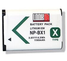 LOOKit Markenakku NP-BX1 ( 1190 mAh) für Sony HX80 B, Sony RX100 IV , Sony HDR-A