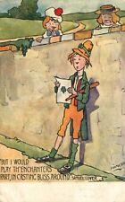 Hamish Signed Postcard Irish Songs Series II - Raphael Tuck & Sons
