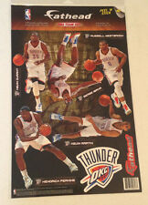 Thunder Fathead 5-Player Team Set Kevin Durant Russell Westbrook Ibaka Perkins