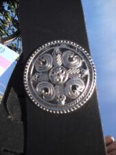 DA SOGNO Motivo BlueBud TRACOLLA PER CHITARRA Chitarra CINTURINO Pelle 8cm