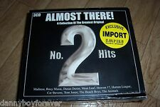 Almost There! A Collection Of The Greatest Original No.2 Hits 3 CD 60s 70s 80s