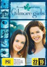 Gilmore Girls : Season 2 (DVD, 2006, 6-Disc Set) R4 as NEW