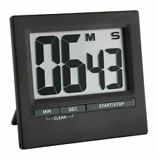 TFA 38.2013.01 Digitaler Timer und Stoppuhr mit Aluminium-Front