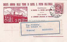 CASTEL S.PIETRO (Bologna) - Società Anonima delle Terme 1928