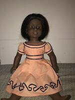 Vintage American Girl Addy Doll With Replica Cape Island Dress!!!