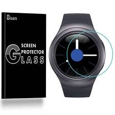Samsung Gear S2 Classic [3-PACK BISEN] Tempered Glass Screen Protector Guard