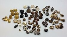 Mixed Lot Buttons for Suite Jacket Sport Coat Blazer Dress Uniform Replacement