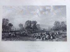 HYDE PARK 1851 Londra parco London Acciaio metà XIX secolo Royal Collection