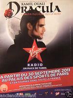 PUBLICITÉ 2011 VIRGIN RADIO PRÉSENTE DRACULA AVEC KAMEL OUALI - ADVERTISING