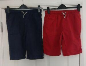 Next, Blue Zoo Boys Summer Elasticated Waist Drawstring Shorts Ages 12 - 13 yrs