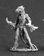 Reaper Miniatures Dark Heaven Legend Lizardman ShamanRPR 03607