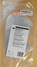 NEW 3M 6885/07142 25-Pack Faceshield Lens Covers for 6000 Series Respirators $60