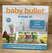 Baby Bullet Food Storage Kit / 8 Piece Set