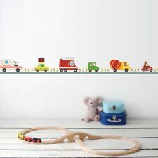 Car Animals Line Boys Nursey Gift DIY Bedroom Wall Sticker Decor Mural