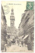 CPA 03 - MOULINS (Allier) - 95. Rue de l'Horloge - Belle animation